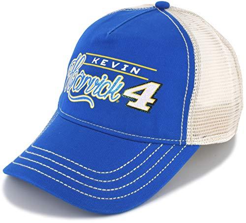 Kudzu Ladies Kevin Harvick 2019 Vintage Glitter Mesh NASCAR Hat Blue - Nascar Racing Ladies Hat