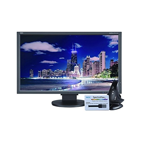 27 NEC 4K UHD 3840x2160 With Spectraviewii Color Calibration Black EA275UHD-BK-SV