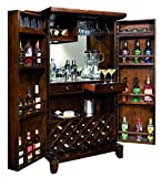 Cheap Rogue Valley Wine & Bar Cabinet