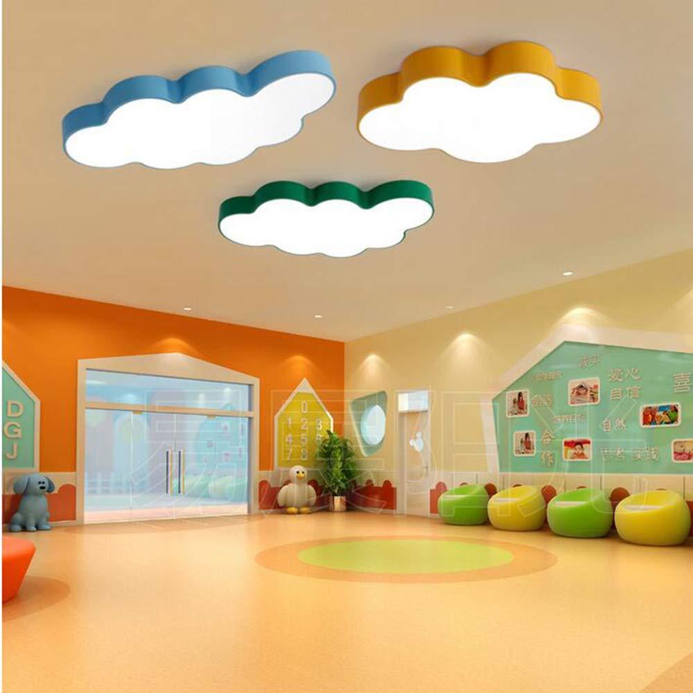 60cm,Green,Whitelight 120 MICHEN Deckenleuchte Cartoon Kinderzimmerlampe