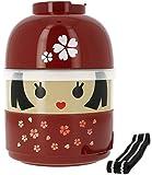 Japonesa Sakura Bento Lunch Box Modelo # 50617 (japón importación)