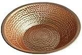 Egypt gift shops Traditional Shiny Polished Pure Natural Copper Exfoliation Pedicure Foot Bath Sauna Spa Beauty Salon Feet Rub Massage Therapy Turkish Hamam fatigue Relief Pot Bowl