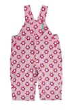 Toby Tiger Baby Girl Pink Daisy Overalls (0-6 Months)