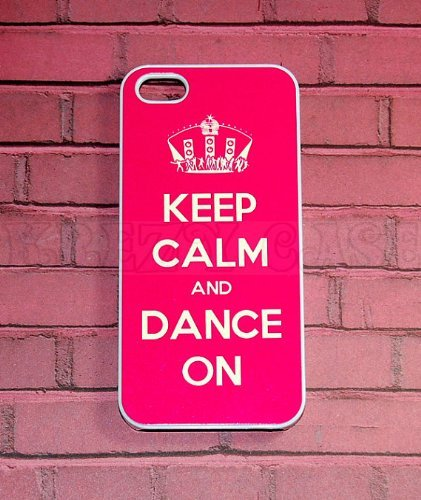 Krezy Case iPhone 6 Plus case, Keep Calm and Dance On iPhone 6 Plus Cover, iPhone 6 Plus 5.5 inch case, iPhone...