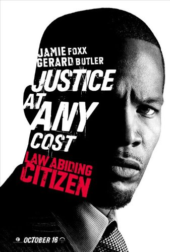 LAW ABIDING CITIZEN (2009) Authentic Original Movie Poster - Dbl-Sided -27x40 - Jamie Foxx - Gerard Butler - Colm Meaney - Bruce McGill (Jamie Foxx And Gerard Butler Law Abiding Citizen)