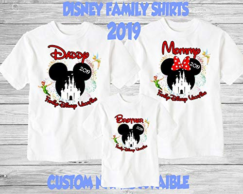 0d4c3e32 Amazon.com: Disney Family Shirts Disney Shirts,Disney Family Shirts,  Mickey, Minnie,Custom T-shirt,Personalized Disney Shirts for Family Shirts  Matching: ...