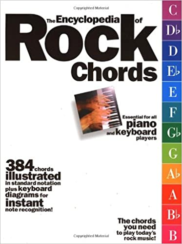 Encyclopedia Of Rock Chords Jack Long 0752187925934 Amazon Books