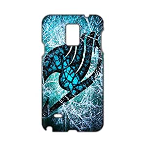 Blue-green Fairy Tail 3D Phone Case for Diy For SamSung Note 4 Case Cover