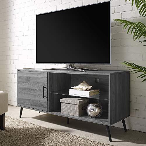 (WE Furniture AZ52NORGSSG TV Stand, 52