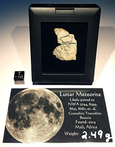 Lunar Meteorite NWA 5744,8599,8651,8687-2.49 Grams