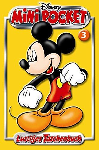 Lustiges Taschenbuch LTB Mini Pocket 03 - Micky Maus gelb Taschenbuch – 17. Januar 2012 Disney Egmont Ehapa Media 3841329039 Comic / Abenteuer