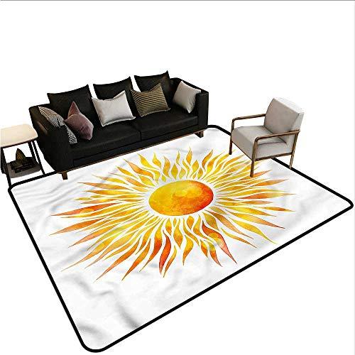 Orange,Kitchen Carpet 60