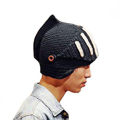 4c2cd7d15d69c CORNFLOWER Unisex beanie Knight Helmet product image