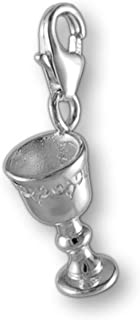 MELINA Charms Pendentif calice Argent 925