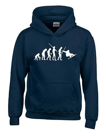 Snowboard Sweat-shirt à capuche Kids Evolution pour enfant taille 128–164  cm - 4892b09ec3f4