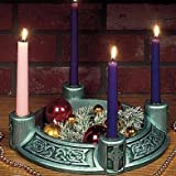 """Celtic Green"" Advent Wreath"