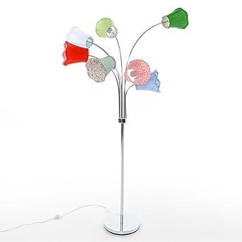 Stehlampe Bunte Lampenschirme