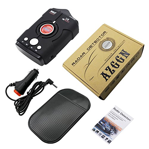 Radar Detectors for Cars, Voice Alert and Speed Alarm System with 360 Degree Detection, City/Highway Mode Radar Detector by AZGGN (Image #6)'