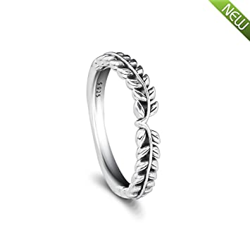 838bbc46e PANDOCCI 2018 Autumn Lively Wish Ring 925 Sterling Silver Decoration Rings  for Women 925 Silver DIY