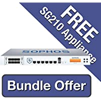 Sophos SG 210 Security Appliance TotalProtect Bundle - 3 Years including a FREE SG 210 Security Appliance