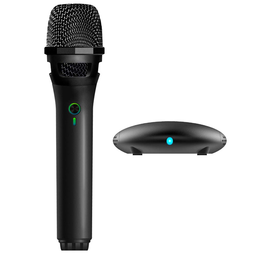 LEED Computer Microphone Wireless Microphone USB Microphone Suitable for Karaoke Recording Singing Microphone