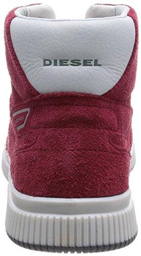 Diesel Urbany Sprawl - Zapatillas abotinadas Hombre Rojo