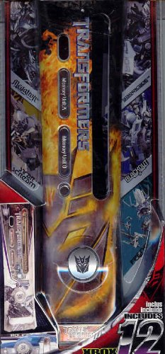 Hasbro Transformers Decepticon Logo Faceplate for X Box 360 with Chrome - Plates Hasbro