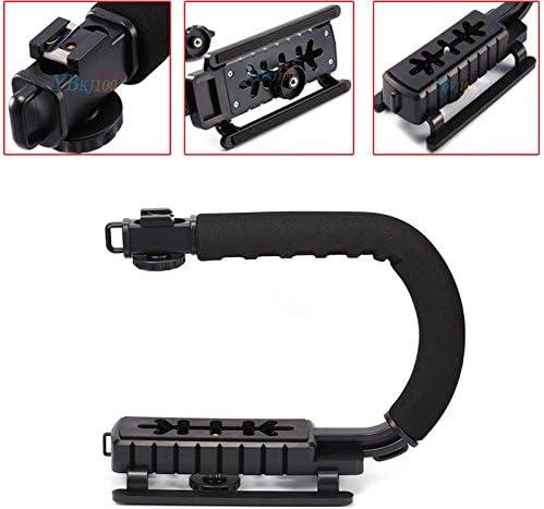 C Shape Bracket Handheld Video Stabilizer Steadycam for DV DSLR Camera Camcorder