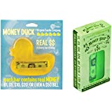 Bundle 2 Items, 1 Bar and 1 Duck Money Soap, Real Money in Every Bar From 1 Dollar to 50 Dollars