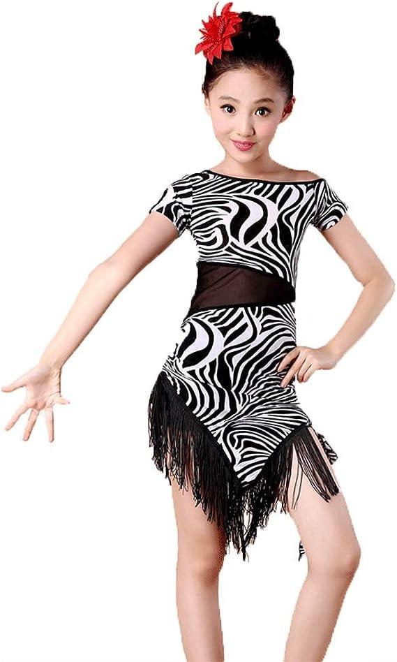 Vestidos de Baile de Ballet Traje de Baile Latino - Falda con ...