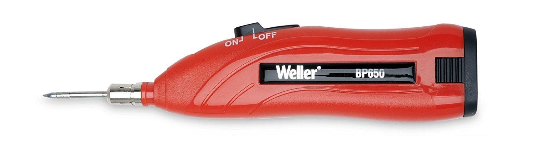 Weller BP650CEU 6 Watt//4.5 Volt Battery Powered Soldering Iron with Case and Accessories
