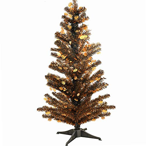 Collapsible Artificial Christmas Trees: Amazon.com: YuQi 5FT Artificial Christmas Tinsel Trees