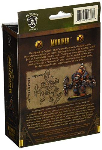 Privateer Press - Warmachine - Mercenary: Mariner Model Kit 4