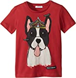 Dolce & Gabbana Kids Baby Girl's T-Shirt (Toddler/Little Kids) Red Print 4