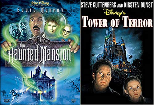 (Park Fright Rides Disney Movie Tower Terror & Haunted Mansion Double Spook Features)