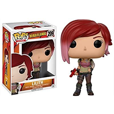 Funko POP Games Borderlands Lilith The Siren Action Figure: Funko Pop! Games:: Toys & Games