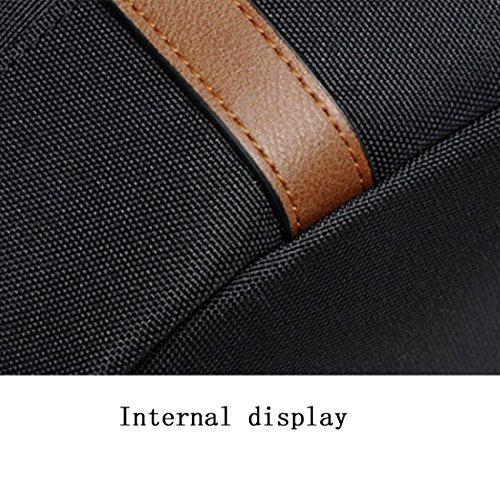 Mochila Wear NDY Transpirable Impermeable Mochila Mochila Black 35 De Black Capacidad De Ocio Tendencia Gran Resisting Tendencia Lona De Fw61qxFv