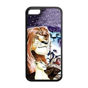 Customize Cartoon Series The Lion King Hakuna Matata Back Case for iphone 5C JN5C-1609