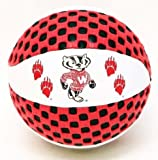 Wisconsin Badgers Fun Gripper 5.5 Mini Basketball NCAA