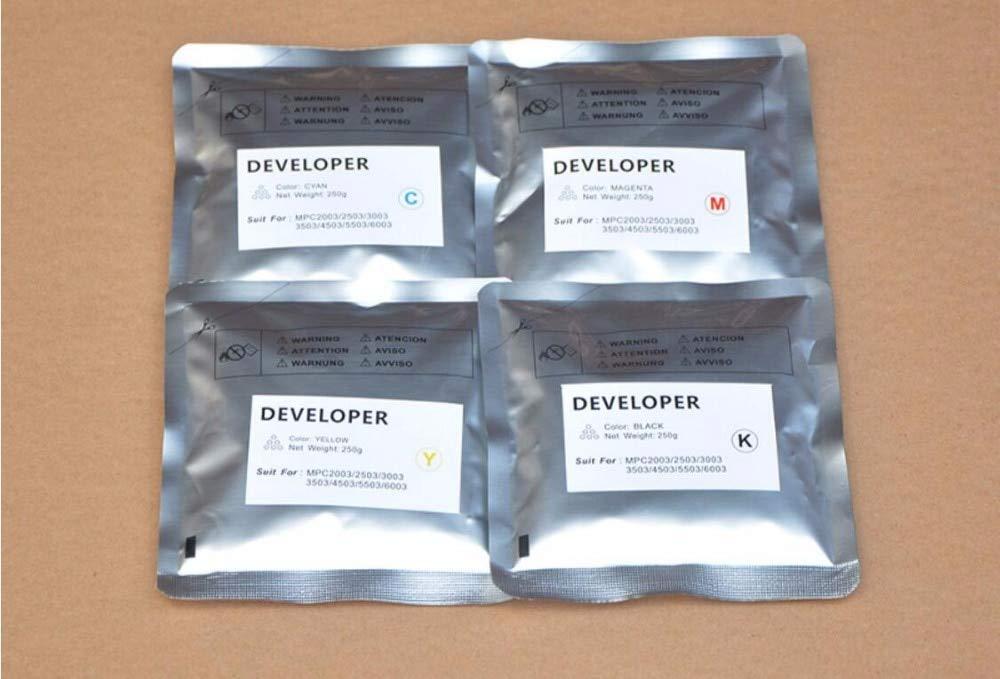 Printer Parts New Color Developer Iron Power Compatible for Yoton MPC2003 C2503 C3003 C3503 C4503 C5503 C6003 Printer Developer 4pc/Set