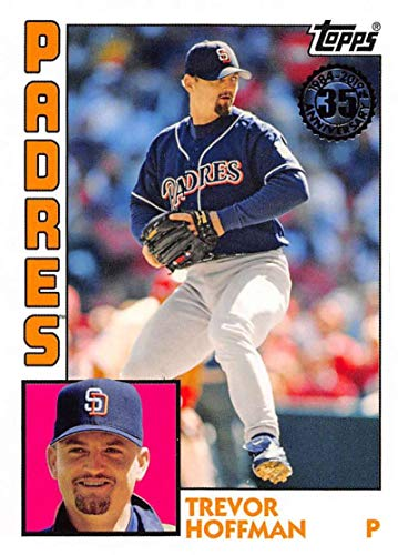 2019 Topps 1984 Topps Baseball #T84-12 Trevor Hoffman San Diego Padres Official MLB Trading Card By -