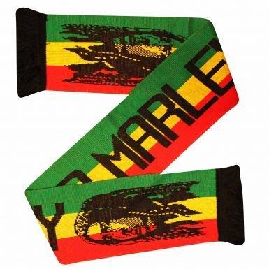 Jamaica Bob Marley Reggae Legend Fans Scarf