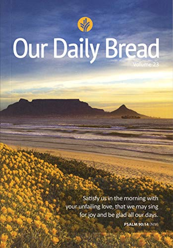 our daily bread devotional book - 2