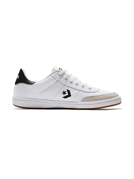 Image Unavailable. Image not available for. Color  Converse Barcelona PRO  Canvas Suede Low TOP Sneakers White Black White ... 74a8bec28