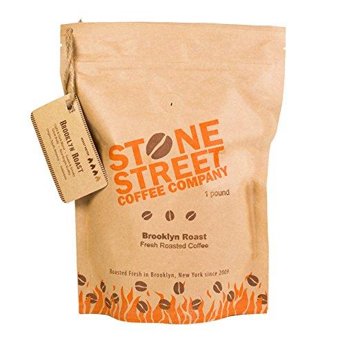 Stone Street Coffee Brookyln Signature Blend Whole Bean Coffee, 1 lb., Medium Dark Roast (Stone Roaster compare prices)