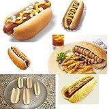 Hot Dog Bun Pan Hotdog Bread Mould Non Stick