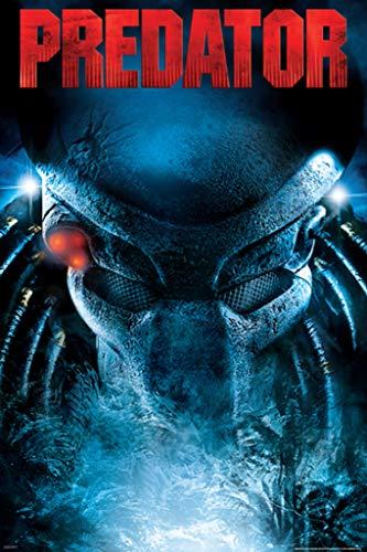 Pyramid America Predator Stare Horror Movie Poster 24x36 inch