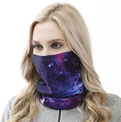 Summer Face Cover UV Protection Neck Gaiter Scarf Sunscreen Breathable Bandana for Women Men