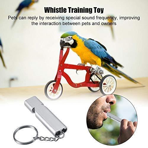 HEEPDD 2 UNIDS Pet Parrot Aves Capacitación Whistle Dog Bark ...