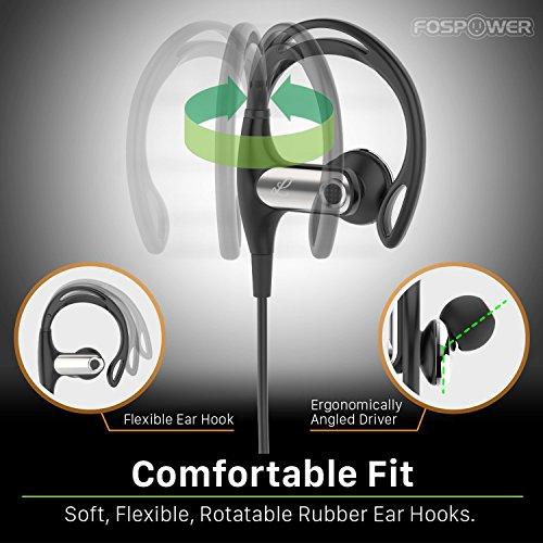 bluetooth headphones fospower wireless bluetooth 4 1. Black Bedroom Furniture Sets. Home Design Ideas